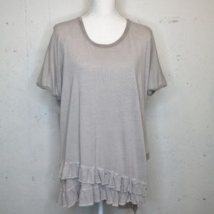 Umgee | gray oversized tunic top